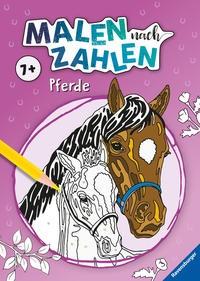 Malen nach Zahlen ab 7 Jahren: Pferde, Kreativ-Buch