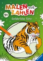 Ravensburger: Malen nach Zahlen ab 7 Jahren: Gefährliche Tiere