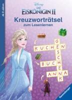 Disney: Die Eiskönigin 2: Kreuzworträtsel zum Lesenlernen