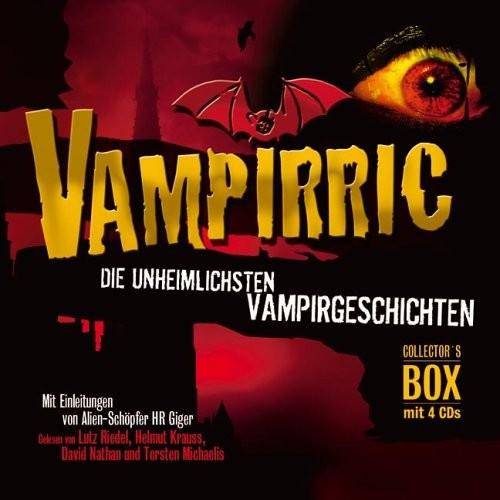 Hans R. Giger: HÖRBUCH: Vampirric. Vampir-Geschichten. 4 CDs. Gänsehaut für die Ohren