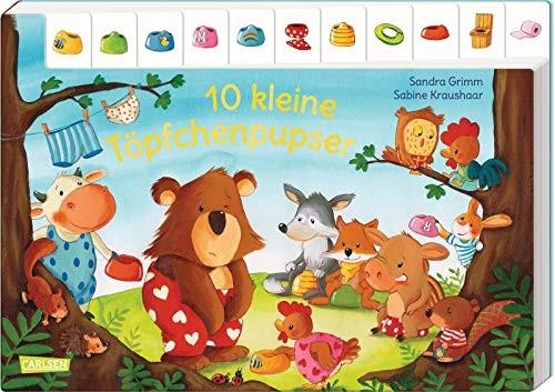 Sandra Grimm: 10 kleine Töpfchenpupser