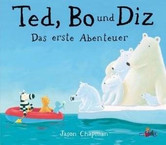 Jason Chapman: Ted, Bo und Diz - das erste Abenteuer