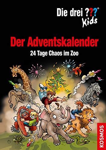 Ulf Blanck: Die drei ??? Kids. 24 Tage Chaos im Zoo - der Adventskalender