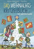 Heribert Schulmeyer: Das Weihnachts-Kritzelbuch zum Weitermalen