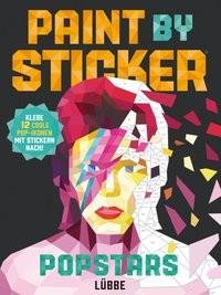Paint by Sticker - Popstars, Kreativbuch