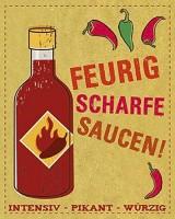 Feurig scharfe Saucen. Intensiv, pikant, würzig, Kochbuch