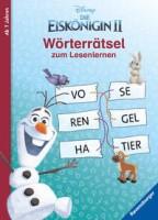Anne Johannsen: Disney Die Eiskönigin 2: Wörterrätsel zum Lesenlernen