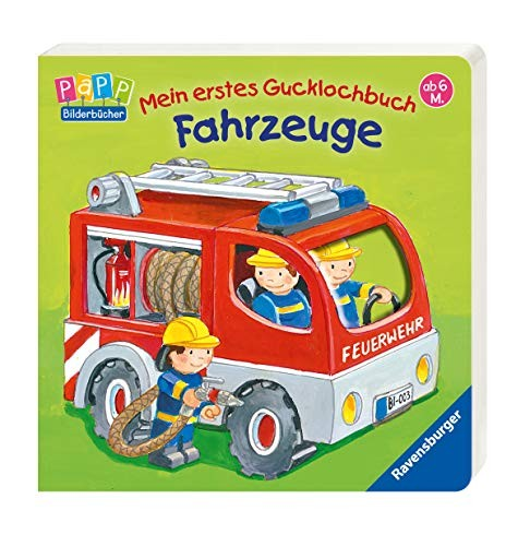 Antje Flad: Mein erstes Gucklochbuch - Fahrzeuge