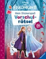 Disney: Mein Stickerspaß - Die Eiskönigin 2: Vorschulrätsel