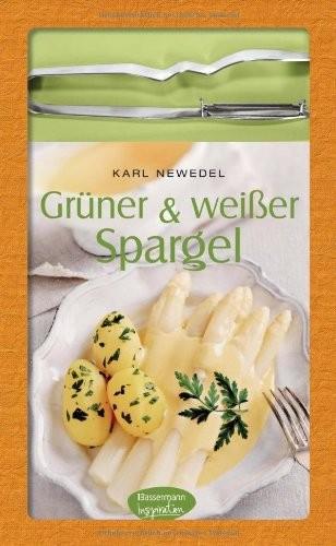 Karl Newedel: Grüner & weißer Spargel, mit Spargelschäler