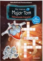 Der kleine Major Tom. Rätselspaß: Planeten, Kinder-Beschäftigungsbuch