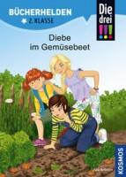 Jule Ambach: Die drei !!! Bücherhelden 2. Klasse, Diebe im Gemüsebeet