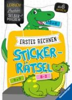 Kirstin Jebautzke: Erstes Rechnen Sticker-Rätsel