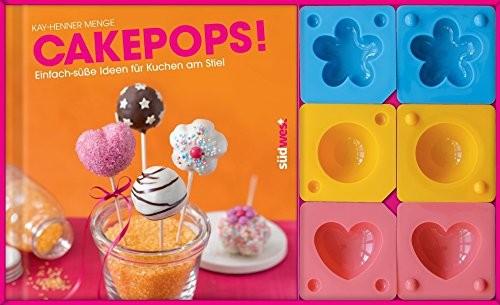 Kay-Henner Menge: Cakepops-Set, mit 3 Cakepop-Formen