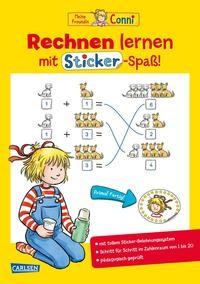 Hanna Sörensen: Conni Gelbe Reihe: Rechnen lernen mit Sticker-Spaß