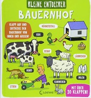 Dynamo Ltd.: Kleine Entdecker - Bauernhof. Interaktives Sachbuch mit Klappen für Kinder ab 3 Jahren