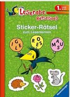 Lena Hofmann: Leserabe: Sticker-Rätsel zum Lesenlernen (1. Lesestufe), grün
