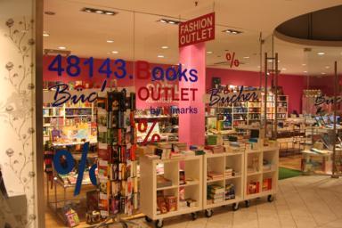 Bücher Outlet Münster Aussenansicht
