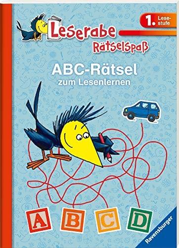 Katja Volk: Leserabe: ABC-Rätsel zum Lesenlernen (1. Lesestufe)