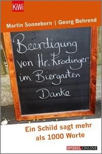 Martin Sonneborn/ Georg Behrend: Beerdigung von Herrn Krodinger im Biergarten