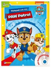 Nelson: PAW Patrol: Malspaß mit CD