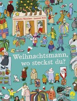 Alexandra Maxeiner: Weihnachtsmann, wo steckst du? Ein Suchbilderbuch