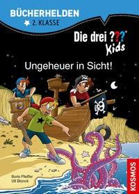Ulf Blanck: Die drei ??? Kids, Bücherhelden 2. Klasse, Ungeheuer in Sicht!