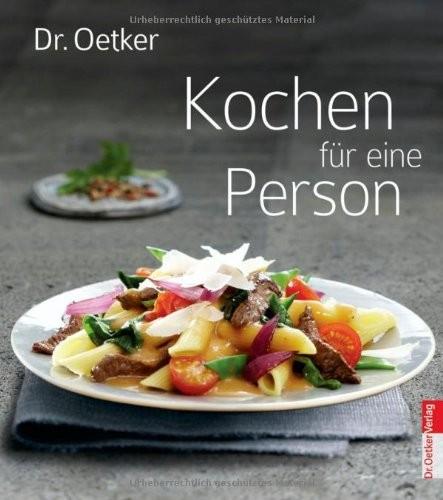 Dr. Oetker: Kochen für eine Person