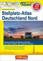 promobil Stellplatz-Atlas Deutschland Nord 2017/18, Reiseführer