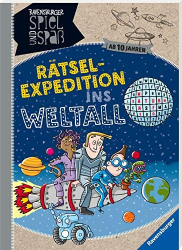 Martine Richter: Rätsel-Expedition ins Weltall