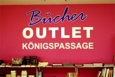 Bücher Outlet Königspassage.