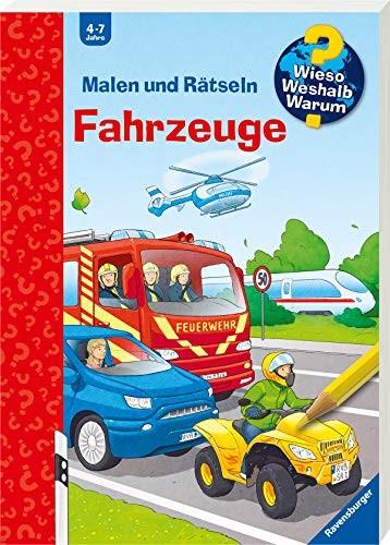 Stefan Richter: Malen und Rätseln: Fahrzeuge
