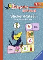 Lena Hofmann: Leserabe: Sticker-Rätsel zum Lesenlernen (1. Lesestufe), blau