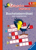 Katja Volk: Leserabe: Buchstabenrätsel zum Lesenlernen (1. Lesestufe)