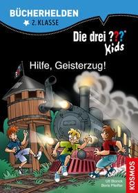 Ulf Blanck: Die drei ??? Kids, Bücherhelden 2. Klasse, Hilfe, Geisterzug!