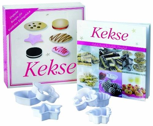 Kekse, mit. Ausstechformen. Einfache Rezepte für köstliches Kleingebäck, Backbuch