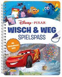 Nelson: Disney Pixar: Wisch & Weg. Buch mit abwischbaren Seiten und Stift