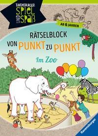 Sybille Siegmund: Rätselblock von Punkt zu Punkt: Im Zoo