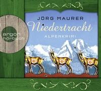 Jörg Maurer: HÖRBUCH: Niedertracht, 5 Audio-CDs
