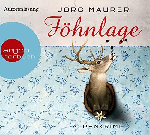 Jörg Maurer: HÖRBUCH: Föhnlage, 4 Audio-CDs