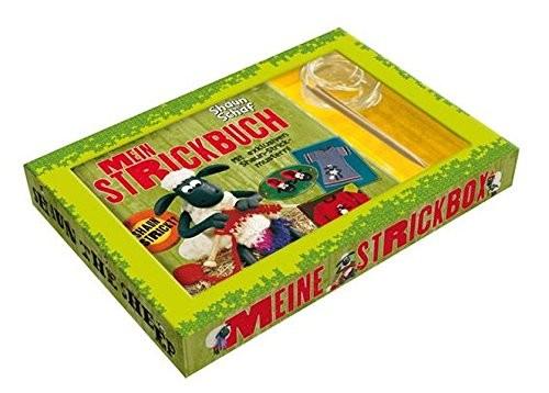 Shaun das Schaf - Mein Strickbuch, mit 2 Rundstricknadeln, Handarbeitsbuch