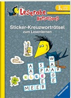 Anne Johannsen: Leserabe: Sticker-Kreuzworträtsel zum Lesenlernen (3. Lesestufe)
